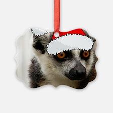 Christmas Lemur Ornament
