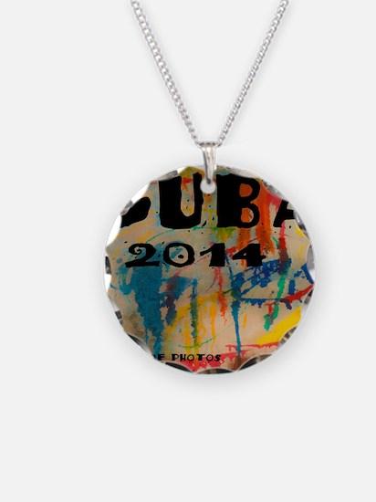 cuba 2014 calendar Necklace