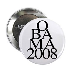 "Layers: Obama 2008 2.25"" Button (10 pack)"