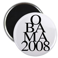 Layers: Obama 2008 Magnet