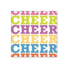 "cheer_sb Square Sticker 3"" x 3"""