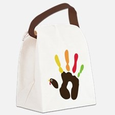 turkeyhand Canvas Lunch Bag