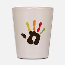 turkeyhand Shot Glass
