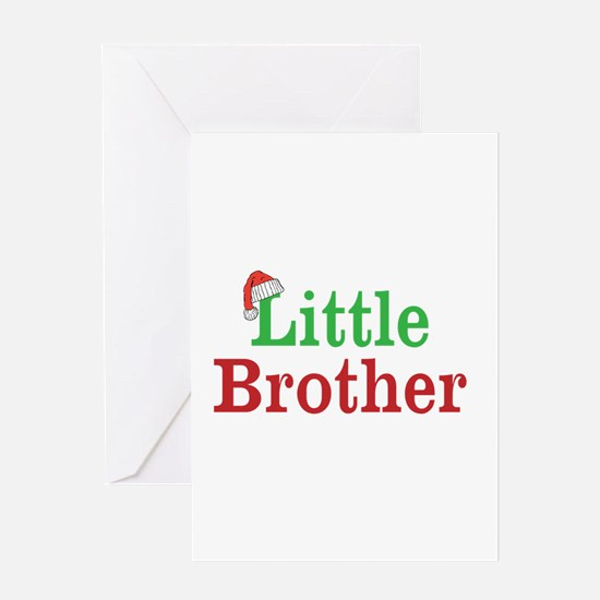 Christmas little Brother Greeting Cards