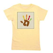 turkeyhand_icon Girl's Tee