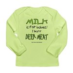 Milk Long Sleeve Infant T-Shirt