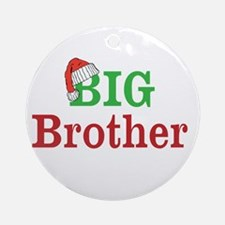 Christmas Big Brother Ornament (Round)