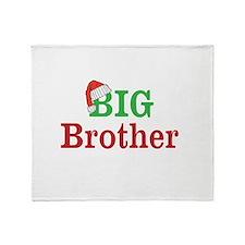 Christmas Big Brother Throw Blanket