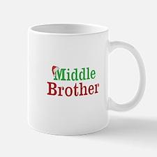 Christmas Middle Brother Mugs