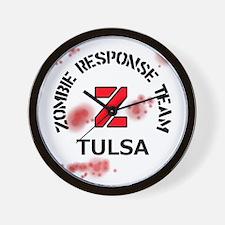 Zombie Response Team Tulsa Wall Clock