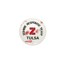 Zombie Response Team Tulsa Mini Button