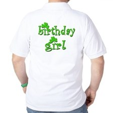 Irish Birthday Girl T-Shirt