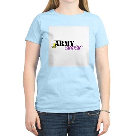 Army Mom Women's Pink T-Shirt