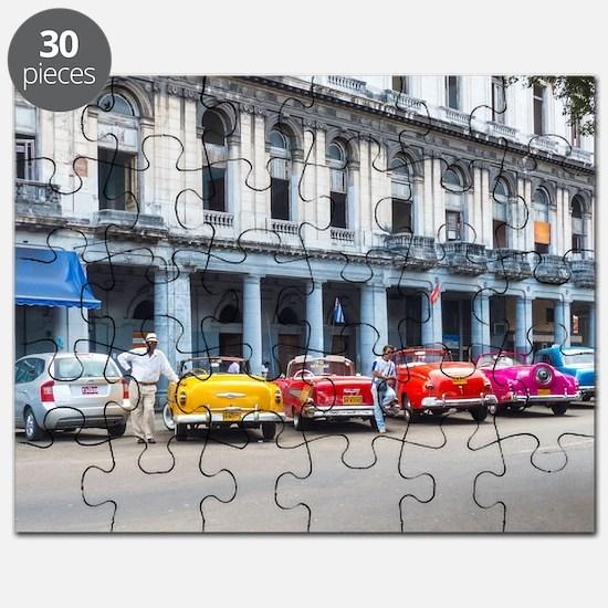 Cars of Havana Puzzle