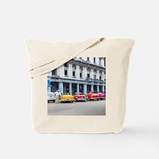 Cars of Havana Tote Bag