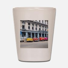 Cars of Havana Shot Glass
