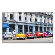 Cars of Havana Bumper Stickers