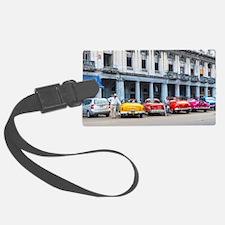 Cars of Havana Luggage Tag
