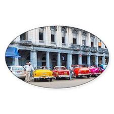 Cars of Havana Bumper Stickers