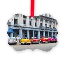 Cars of Havana Ornament