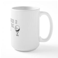 time_spent_dark_bg Mug