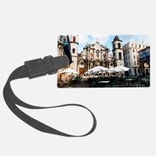 cathedral Sq Luggage Tag