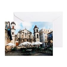 cathedral Sq Greeting Card