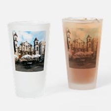 cathedral Sq Drinking Glass