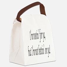 RootinNotBettin Canvas Lunch Bag