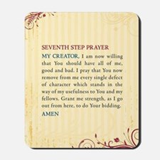 Seventh Step Prayer Mousepad