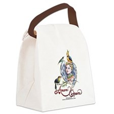 2-papageno_bear Canvas Lunch Bag