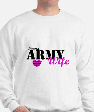 Army Wife Pink  Jumper