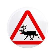 """reindeer 3.5"""" Button"""