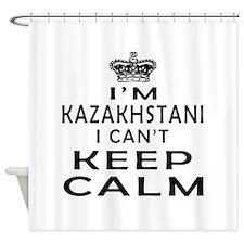 I Am Kazakhstani I Can Not Keep Calm Shower Curtai
