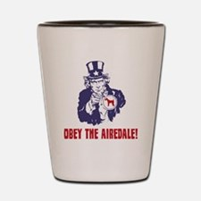 Airedale-Terrier18 Shot Glass
