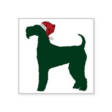 "Airedale-Terrier23 Square Sticker 3"" x 3"""