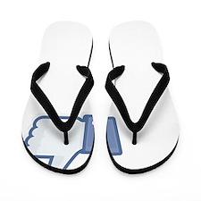 Afghan-Hound27 Flip Flops