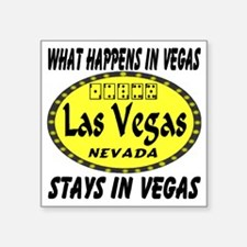 "whathappensinvegas_staysinv Square Sticker 3"" x 3"""