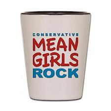 mean girls rock Shot Glass