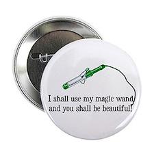 """Beauty Shop Magic 2.25"""" Button"""