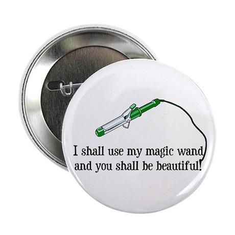 """Beauty Shop Magic 2.25"""" Button (100 pack)"""
