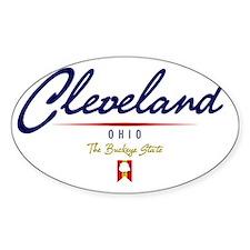 Cleveland Script W Decal