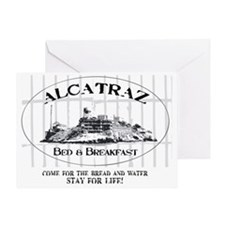 ALCATRAZ BB Greeting Card
