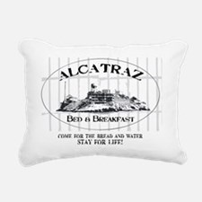 ALCATRAZ BB Rectangular Canvas Pillow