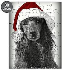Christmas Poodle Puzzle