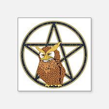 "penta owl15 Square Sticker 3"" x 3"""