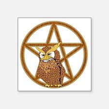 "penta owl13 Square Sticker 3"" x 3"""