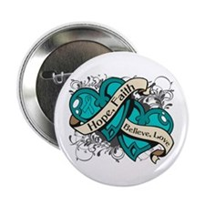 "Scleroderma Hope Hearts 2.25"" Button"