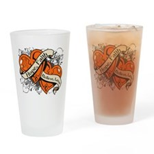 RSD Hope Hearts Drinking Glass