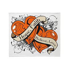 RSD Hope Hearts Throw Blanket